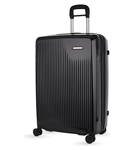 BRIGGS & RILEY Sympatico four-wheel large expandable suitcase 76cm (Onyx