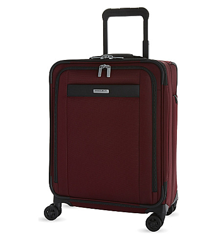 BRIGGS & RILEY Transcend four-wheel suitcase 46cm (Merlot