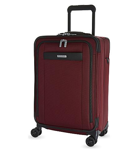 BRIGGS & RILEY Transcend four wheel suitcase 56cm (Merlot