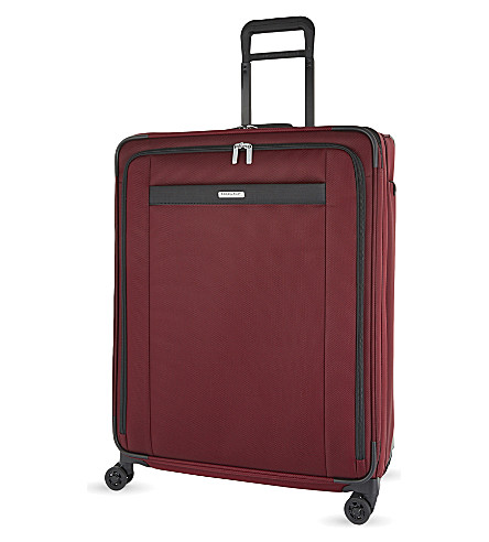 BRIGGS & RILEY Transcend four wheel suitcase 74cm (Merlot