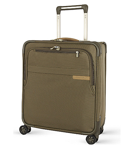 BRIGGS & RILEY Computer four-wheel spinner suitcase 48cm (Olive