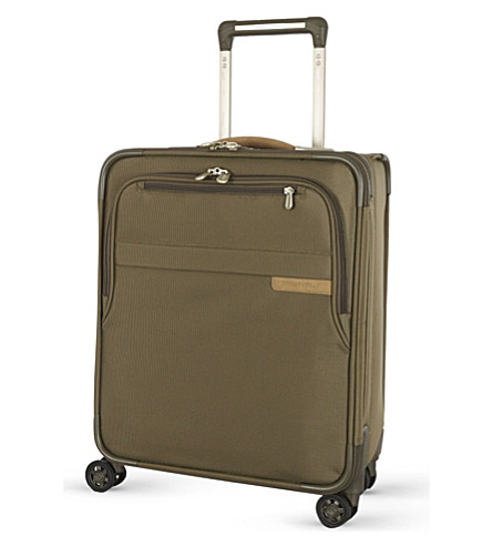BRIGGS & RILEY Intern four-wheel spinner suitcase 53cm (Olive