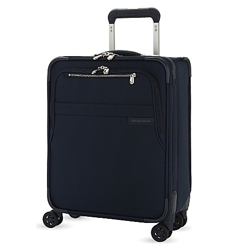 BRIGGS & RILEY Baseline expandable cabin suitcase 53.5cm (Navy