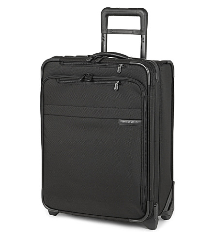BRIGGS & RILEY Baseline International carry-on expandable upright suitcase 51cm (Black