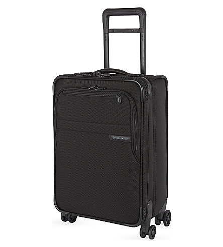 BRIGGS & RILEY Domestic carry-on spinner suitcase 56cm (Black