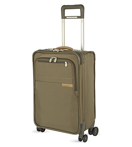 BRIGGS & RILEY Domestic carry-on four-wheel spinner suitcase 56cm (Olive
