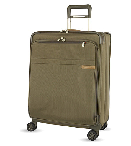 BRIGGS & RILEY Medium expandable spinner suitcase 63.5cm (Olive