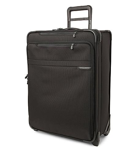 BRIGGS & RILEY 基线中等可扩展直立手提箱 61cm (黑色