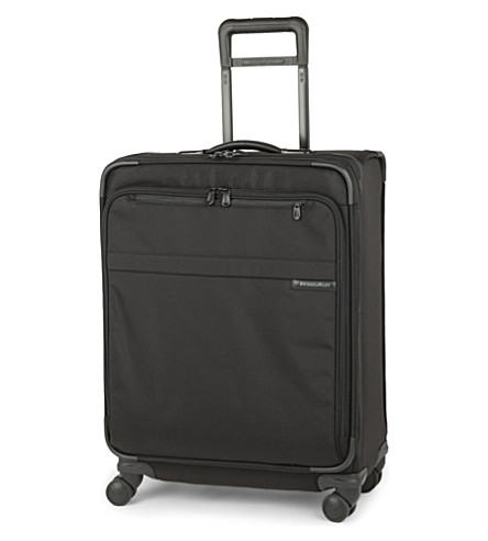 BRIGGS & RILEY Baseline medium expandable four-wheel suitcase 64cm (Black