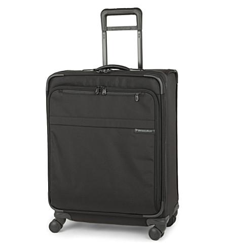 BRIGGS & RILEY Baseline medium expandable four-wheel suitcase 64cm (Black