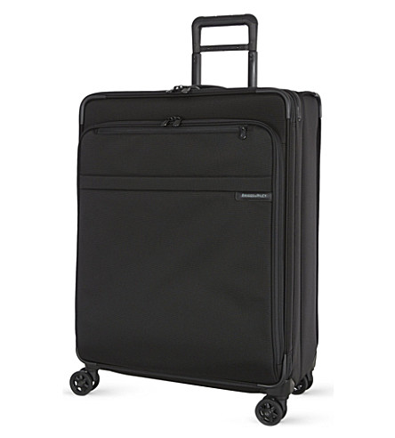 BRIGGS & RILEY Large expandable spinner suitcase 71.1cm (Black