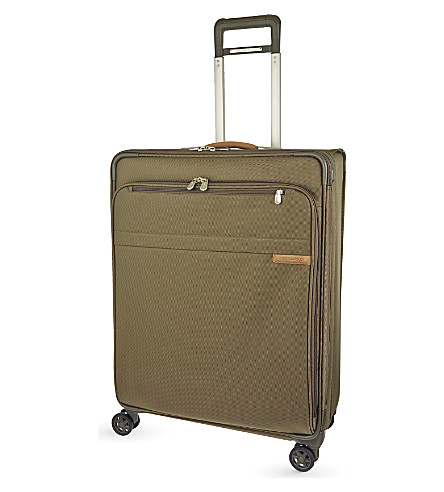 BRIGGS & RILEY Baseline CX expandable four-wheel spinner suitcase 71cm (Olive