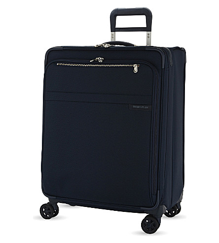 BRIGGS & RILEY Baseline large expandable suitcase 71cm (Navy