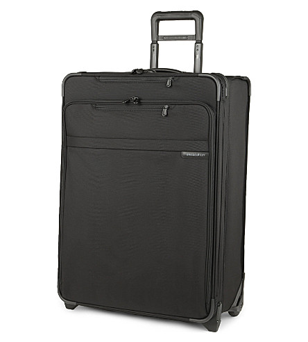 BRIGGS & RILEY Baseline large expandable upright suitcase 68cm (Black