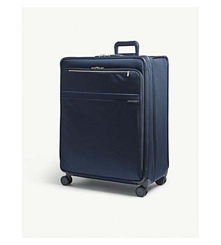 BRIGGS & RILEY Baseline XL expandable suitcase (Navy