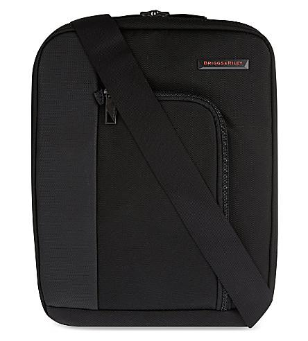 BRIGGS & RILEY Verb link cross body bag (Black
