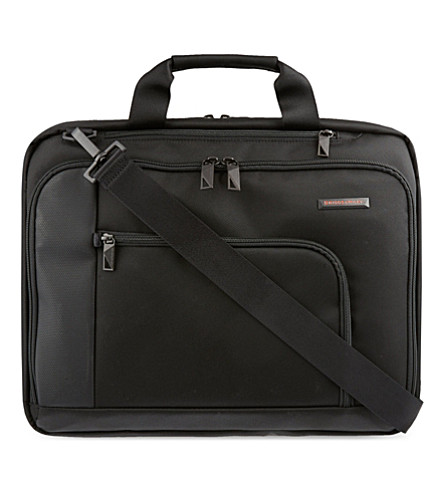 BRIGGS & RILEY Verb Connect briefcase (Black