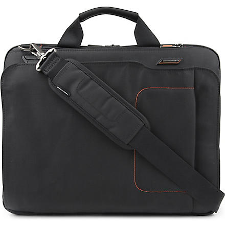 BRIGGS & RILEY Verb Groove slim briefcase (Black