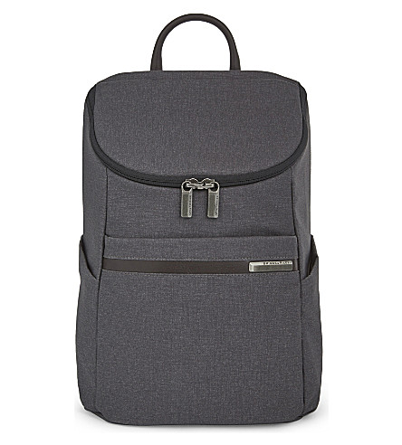 BRIGGS & RILEY Kinzie Street small polyester backpack (Grey