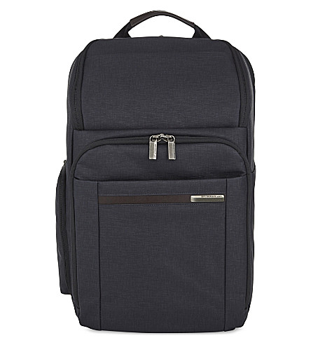BRIGGS & RILEY Kinzie Street large polyester backpack (Navy