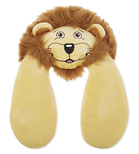 GO TRAVEL Lion neck pillow (Yellow