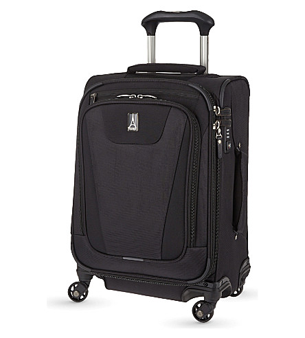 TRAVELPRO Maxlite 4 four-wheel expandable cabin suitcase 54cm (Black