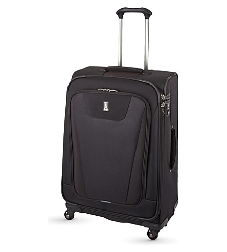 TRAVELPRO Maxlite 4 four-wheel expandable suitcase 80cm (Black
