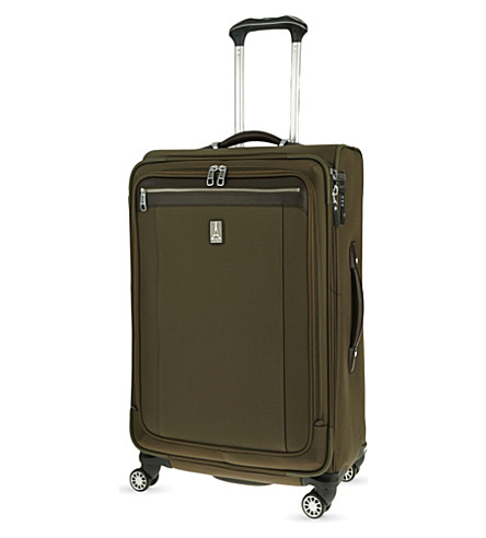 TRAVELPRO Platinum Magna 2 four-wheel expandable suitcase 83cm (Olive