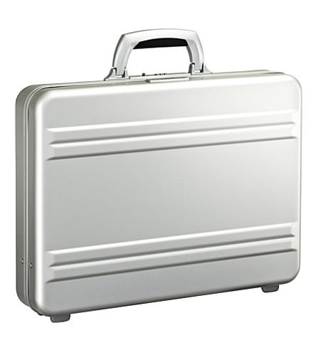 ZERO HALLIBURTON Slimline aluminum attache case (Silver