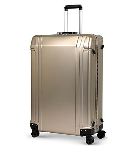ZERO HALLIBURTON ZH 30 83 aluminium suitcase (Titanium