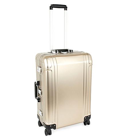 ZERO HALLIBURTON Geo polycarbonate four-wheel suitcase 67cm (Titanium