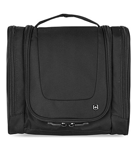 VICTORINOX Hanging toiletry kit bag (Black