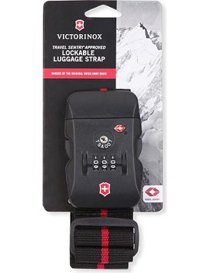 VICTORINOX Tsa lockable luggage strap