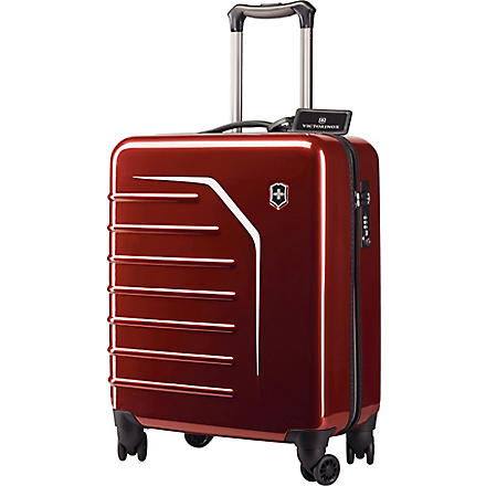 VICTORINOX Spectra™ eight-wheel cabin suitcase 55cm (Red