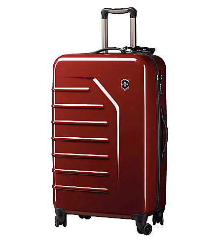 VICTORINOX Spectra™ eight–wheel suitcase 74cm (Red