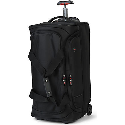VICTORINOX Werks 4.0 drop–bottom duffle bag (Black