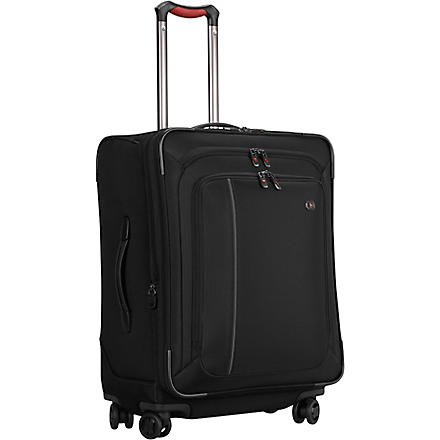 VICTORINOX Werks 24 expandable four-wheel suitcase 61cm (Black