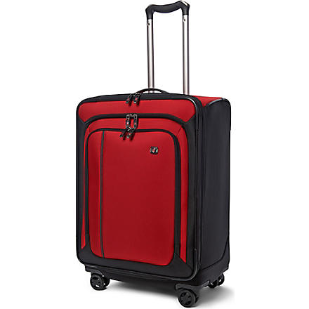 VICTORINOX Werks 24 expandable four-wheel suitcase 61cm (Red