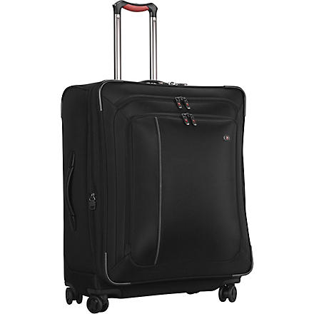 VICTORINOX Werks 27 expandable four-wheel suitcase 69cm (Black