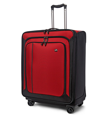 VICTORINOX Werks 27 expandable four-wheel suitcase 69cm (Red