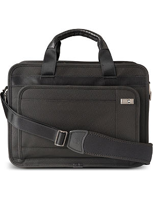 "VICTORINOX Monticello expandable 15"" laptop briefcase"