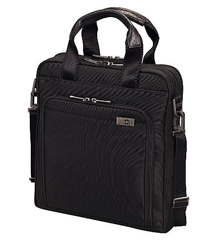 VICTORINOX Architecture 3.0 Eiffel slimline briefcase (Black