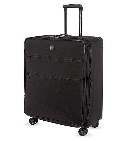 VICTORINOX Lexicon expandable four-wheel spinner 69cm (Black