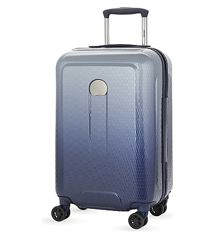 DELSEY Helium Air 2 four-wheel cabin suitcase 55cm (Gradient+navy
