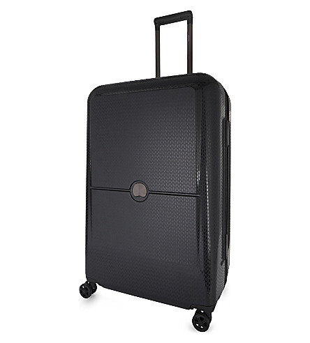 DELSEY Turenne four-wheel suitcase 75cm (Black