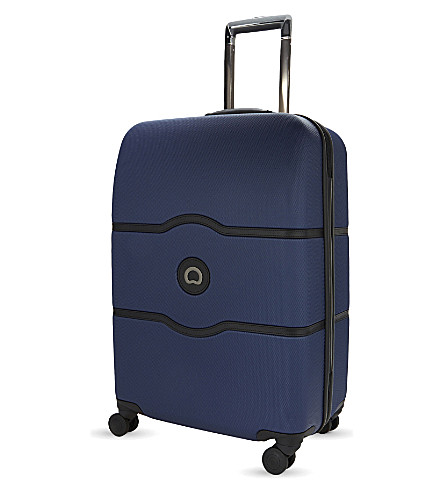 DELSEY Châtelet Hard + four-wheel suitcase 67cm (Blue