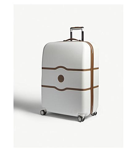 DELSEY Chatelet Hard four-wheel suitcase 77cm (Angora