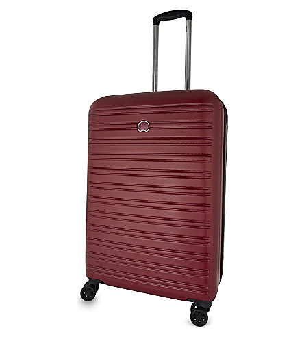 DELSEY Segur four-wheel spinner suitcase 70cm (Red