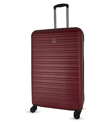 DELSEY Segur four-wheel spinner suitcase 78cm (Red