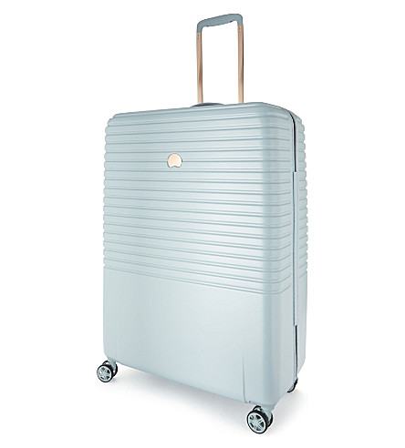 DELSEY Caumartin four-wheel spinner suitcase 76cm (Ice+blue